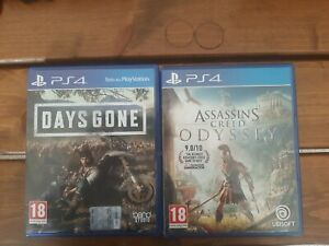 Days Gone + Assassin's Creed Odyssey PS4