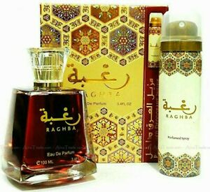 Raghba 100ml EDP by Lattafa Arabian fragrance perfume spray