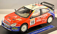 Citroen Xsara WRC 2003 RALLY OF Turchia #19 Sainz MARTI 1:18 SUNSTAR