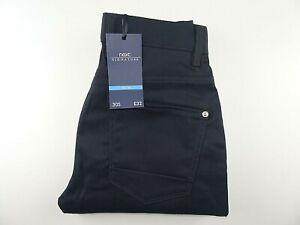 "New* NEXT Mens Jeans Black Stretch Denim Slim SIZE 30S W30 L29 Waist 30"" Leg 29"""