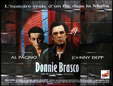 DONNIE BRASCO Affiche Cinéma GEANTE 4x3 WIDE Movie Poster AL PACINO