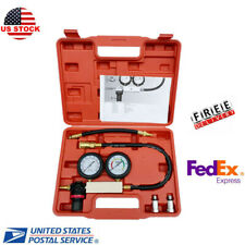 Cylinder Leak Tester Petrol Engine Compression Leakage Leakdown Detector Kit Set