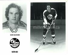 "HTF 1979-80 Gord McTavish Winnipeg Jets NHL Orig. Player Press Photo 8"" x 10"""