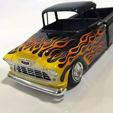 Flame Paint Masks for AMT 1/25 1955 - 57 Chevy Pickup Cameo Stepside