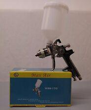 Pistolet peinture à gravité HVLP vernis et base buse 1.4 + manomètre régulateur