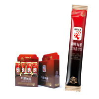 TW One a day Deer Antlers Korean Red Ginseng 20 Stick Portable Health Care Food