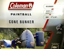 "Coleman Paintball Air Inflatable Cone Bunker, New in Box, 47"" x 69"" (5 Feet 9in)"