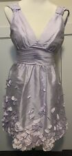 Designer Calvin Klein Size US 4 Aus 8 Lilac Dress Party Cocktails Formal BNWT