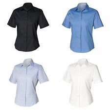 Women's Collared Fitted Tops & Shirts