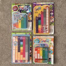 CBeebies Numberblocks 1-20. Full Set of 140 Toy Number Blocks & 4 Free Magazines