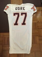 2002 VIRGINIA TECH BRANDON GORE GAME USED FOOTBALL JERSEY BIG EAST NOT ACC 52+4""