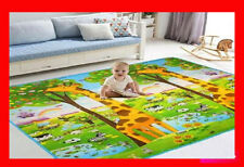 2 SIDE BABY MAT KIDS CRAWLING EDUCATIONAL PLAY SOFT FOAM BABY CARPET 200X180CM