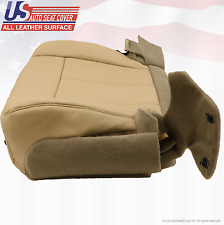 2013 2014 Ford Expedition Passenger Bottom Leather Replacement Seat Cover Tan