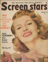 ORIGINAL Vintage August 1953 Screen Stars Magazine Rita Hayworth