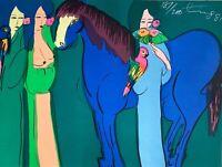 Ting Walasse lithographie originale signée 1981 pop art Amsterdam New York Paris