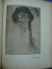 """MUSACCHIO-""""CONTEMPORANEI""""-CARICATURE E RITRATTI DISEGNATI DAL VERO 1915-1921*"""