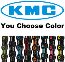 KMC DLC11 ASSORTD COLORS 11 Speed Road Bike Chain fit SRAM Shimano Campy X11SL
