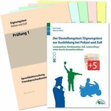 Der Einstellungstest / Eignungstest zur Ausbildung bei Polizei und Zoll (Buch)