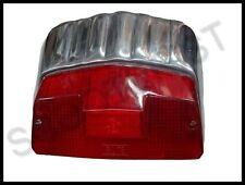 Lambretta GP DL SX 125 150 200 Rear Back Tail Light Lamp Polished Metal Alloy