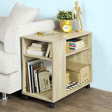 SoBuy® Moveable Lamp Side Table End Table Coffee Table with Shelves,FBT34-N,UK