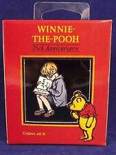 Winnie The Pooh Christopher Robin Pin 75th Anniversary Disney Gallery Boxed