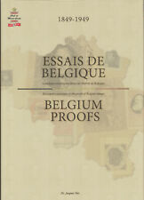 Belgium Proofs, by Dr. Jacques Stes. A descriptive catalog with Rarity Ratings.