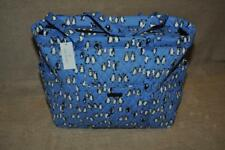 Vera Bradley Get Carried Away Tote Blue Penguin 15828-I57 NWT