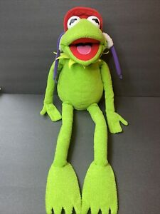 "24"" Kermit the Frog Plush for Macy's & The Bon Marche Henson VINTAGE!"