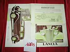 N°16674 /  LANCIA Belna dépliant en français illustré par A.Kow