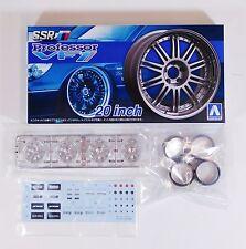 "Aoshima 1/24 SSR Professor VF1 20"" Wheel Set For Plastic Models 5277 (27)"