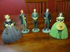 "Franklin Mint Gone With The Wind 1990 Figurines 3 ""- 4"" Tall"