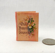 BABY BOOK SCRAPBOOK 1:6 Scale Readable Illustrated Miniature Book Momoko Barbie