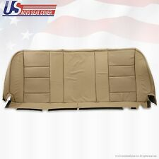 2002 - 2007 Ford F-350 F350 Lariat Rear Bottom Leather Bench Seat Cover TAN