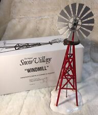 "Department 56 ""WINDMILL"" #54569 The Original Snow Village Accessory"