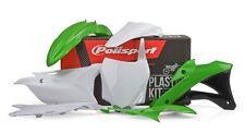Kawasaki Kit in Plastica KX 85 2014 - 2018 Oem Verde Bianco Motocross Polisport