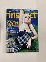 Instinct Gay Magazine January 2007 - Gwen Stefani, Jesse Garcia