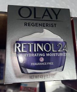 Olay Regenerist Retinol 24 Night Hydrating Moisturizer - 1.7oz Fragrance Free