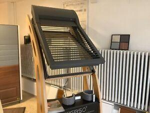 Dachflächenfenster Holz Velux mit elektrischen  Alu Rollladen ROMA