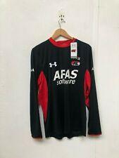 Under Armour UA Men's LS AZ Alkmaar FC Shirt - Large - Black - New