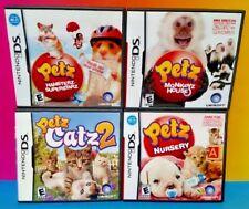 Petz Hamsterz, Catz, Monkeyz, Nursery -  Game Lot Nintendo DS Lite 3DS 2DS