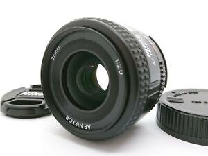 [Near Mint] Nikon AF Nikkor 35mm F/2 D Wide Angle Lens From Japan A62