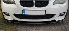 E 60 61 Spoiler Lip for M Sport Front Bumper chin Power tuning Tech msport mtech