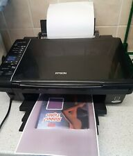 Epson Stylus SX 215 Colour Printer & Scanner : Working (No usb or Instructions)