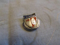 "Vintage CAMDA Advanced Driving Test Enamel Badge - 0.75"" long"