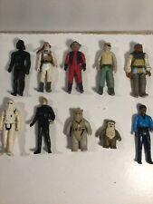 Vintage Star Wars Figures Job Lot X 10