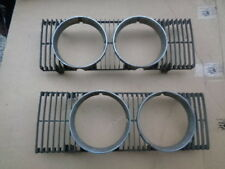 1974 Mercury Cougar Front Grille Right Left Sections Panels OEM D4WB-13052-AA