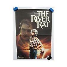 THE RIVER RAT Tommy Lee Jones Original Vintage Home Video Movie Poster