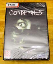 Condemned de Monolith Productions - Sega Survival horror para PC en buen estado