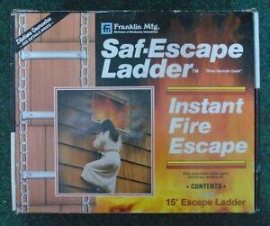 Saf-Escape 15' Escape Ladder Boxed
