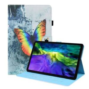 """Pattern Leather Magnetic Stand Case Cover For iPad 9.7"""" 10.2"""" Pro 11"""" Air 4 Mini"""